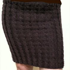 (24) Одноклассники Crochet Skirts, Knit Skirt, Knit Crochet, Carolina Herrera, Knits, Ravelry, Knitwear, Knitting, Handmade