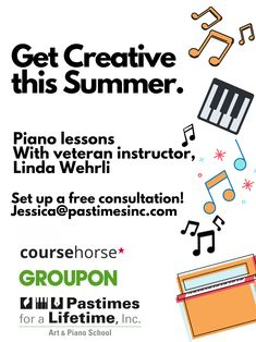 Get #Creative this #Summer. 🎹 Piano lessons  With veteran instructor, Linda Wehrli  Set up a free consultation! Jessica@pastimesinc.com Christina Ramos, Piano Lessons, Museum Collection, Creative Thinking, Teacher, Student, School, Summer, Free