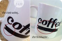 My review on the popular DIY sharpie mug pin - did it withstand washing?? Find out! | ITriedAPin.com