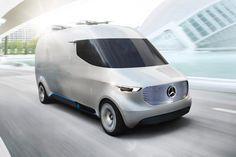 Van conceito da Mercedes conta com drones para auxiliar nas entregas - TecMundo