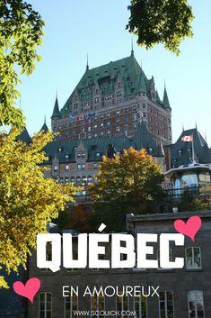 La capitale du Québec est romantique, c'est incontestable. Suivez mes recommendations pour un week-end entre amoureux lors de votre passage dans la ville de Québec: Où dormir, où manger, quoi faire et quoi visiter pour une escapade romantique. Ontario, Blog Voyage, Week End, Quebec, Pin Up, Travel, Photos, Inspiration, Romantic Getaways