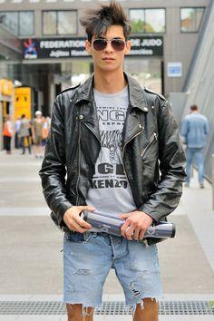 PARIS FASHION WEEK: KENZO - MONSIEUR JEROME (I have a leather jacket fetish)