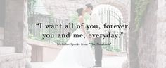 48 Love Quotes and How to Use Them In Your Wedding | Kennedy Blue