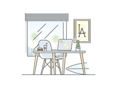 I working on new illustrations for Biz Dev recruiting in Aerolab.
