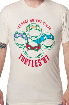 Turtles 87 Shirt: 80s Cartoons: Teenage Mutant Ninja Turtles Shirts
