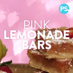 Summer never tasted as sweet as these sublimely tart pink lemonade bars. They're perfect for bake sales, end of Summer barbecues, dinner parties . . . really any event that's begging for a sweet treat. A strawberry spin on classic lemon bars, they're super simple to make and so tasty that you might not want to share them with anyone.