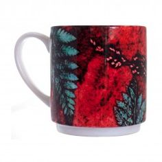 Gillian Arnold Strawberrry Fern Stacking Mug