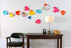 TUTORIAL: paper plate fish   MADE