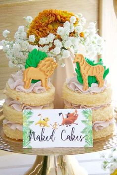 Take a look at this adorable Lion King Birthday party! The party food is wonderful! See more party ideas and share yours at CatchMyParty.com #catchmyparty #partyideas #lionking #lionkingparty #safariparty #boybirthdayparty #safaripartyfood Safari Party Foods, Safari Theme Party, Party Themes, Party Ideas, Lion King Party, Lion King Birthday, Bridal Shower Cakes, Baby Shower Cakes, Animal Cakes