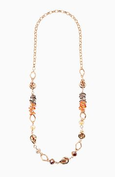 Beaded Knot Necklace @ DailyLook.com