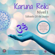 El próximo Sábado 20 de Junio tenemos el curso de Karuna Reiki Nivel 1. . .  Adriana Cortés, Maestra Reiki Karuna nos explica en qué consiste esta técnica. . Es un curso de especialización solo para terapeutas de 3*Nivel y Maestros de Reiki Usui. 🤩✨ . . Más información: . . 📲 620-281-747 // 981 979098 💌 centro.kilau@gmail.com  #centrokilau #reiki #reikiusui #reikimaster #reikigalicia #reikienergy #reikiana #reikilove #reikimaster🙏 #reikiteacher #reikikaruna #reikikarunaavanzado…