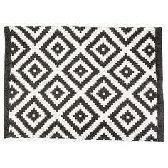 EUR 3,49 - vloermat patroon zwart/wit kat. 60x90cm