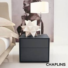 Buy the Dado Bedside Table by B&B Italia from our designer bedroom furniture collection at Chaplins - Showcasing the very best in modern design. Contemporary Bedroom Furniture, Bedroom Furniture Design, Bedroom Decor, Master Bedroom, Space Furniture, Furniture Ideas, Bedroom Ideas, Small Study Table, Italia Design