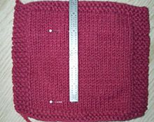 FINE,  After a 4 month project that ended in disaster, I'll start swatching.  Ugh.  Good article on it here.