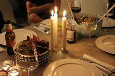 En sensommarkväll med vänner i Göteborg