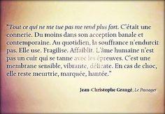 """Jean-Christophe Grangé """"Le passager"""""""