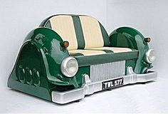 Incredible Furniture Made From Classic Car Parts