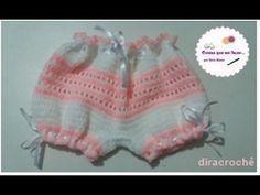 Shorts de Crochê infantil - Passo a passo | Professora Simone Eleotério - YouTube
