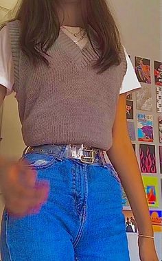 Indie Outfits, Teen Fashion Outfits, Cute Casual Outfits, Retro Outfits, Vintage Outfits, Girl Outfits, Edgy Outfits, Indie Fashion, Aesthetic Fashion
