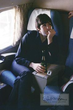 Paul McCartney The Beatles 1966 Candid Limited Edition Color Photograph | Bob Bonis, photographer