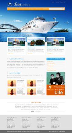 Ha Long Best Cruise Web Layout