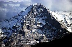 The Eiger (North Face), Bernese Alps, Switzerland