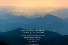 Josué 21:43