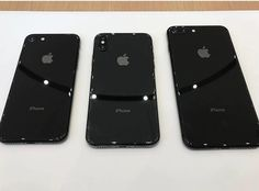 IPhone 8 and iPhone X   by @fdisselhof