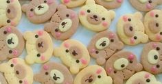 Teddy Bear Cookies Recipe - Yummy this dish is very delicous. Let's make Teddy Bear Cookies in your home! Teddy Bear Cookies, Teddy Bear Party, Teddy Bears, Cake Candy, Bear Birthday, Birthday Ideas, Red Food Coloring, Chocolate Decorations, Cute Cookies