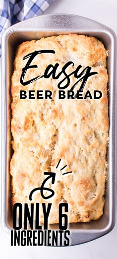 beer bread/beer bread recipe/beer bread easy/beer bread recipe easy/beer bread dip/beer bread recipe tastefully simple/beer bread self rising flour/beer bread recipe 3 ingredients/Beer Is Bread .com/allforyou/beerbread Easy Bread Recipes, Banana Bread Recipes, Cooking Recipes, Quick Bread, Coffee Recipes, Beer Bread, Beer Cheese Bread Recipe, Homemade Snickers, Easy No Bake Desserts