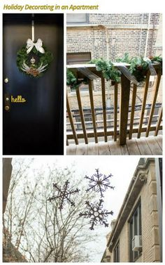 A few tips and tricks to help you share your #holiday spirit with your whole #neighborhood, even if you live in an #apartment building!