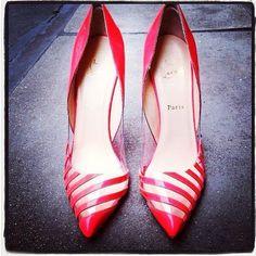 Shoes! Transparent \u0026amp; Neon on Pinterest   Sandals, Sophia Webster ...