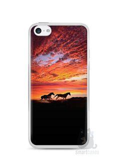 Capa Iphone 5C Cavalos #1 - SmartCases - Acessórios para celulares e tablets :)