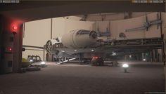 Star Wars Mania: Docking Bay 94 — polycount