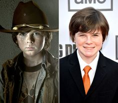 The Walking Dead Cast: What They Look Like on the Red Carpet: Chandler Riggs