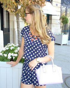 PARIS: Polka Dots in Place Vendome. #fashionblogger #pbinparis