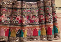 Embroidery Suits Design, Hand Work Embroidery, Wedding Outfits For Women, Bridal Outfits, Couture Embroidery, Embroidery Fashion, Pakistani Dresses, Indian Dresses, Sabyasachi Sarees