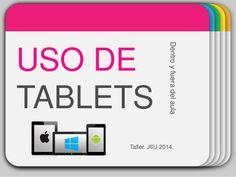 Uso de tablets dentro y fuera del aula by Maite Lama via slideshare