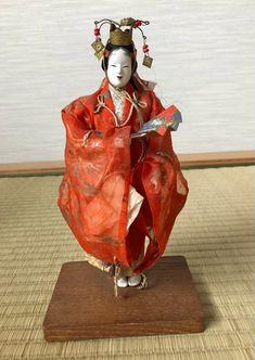 Vintage Japanese Noh Ningyo Dolls Mid Showa period | Etsy Showa Period, Heian Period, Sakura Cherry Blossom, Amazing Decor, Child Day, Doll Maker, Vintage Japanese, Beautiful Dolls, Puppets
