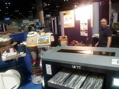 Day two of our booth setup. #GOA2013