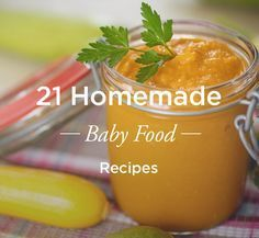Homemade baby food is easy to make, affordable, and a great way to add nutrition to your baby's diet.