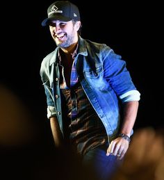 Just can't resist that smile! Luke can crash my party anytime LOL