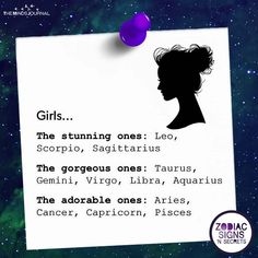 What Do The Zodiac Signs Say About Girls - themindsjournal.c...