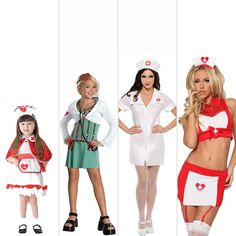 Doctor or Nurse costumes evolved through the years