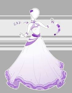 ::Commission 11 by Scarlett-Knight on DeviantArt : .::Commission 11 by Scarlett-Knight Anime Kimono, Anime Dress, Pretty Outfits, Pretty Dresses, Beautiful Dresses, Clothing Sketches, Dress Sketches, Drawing Anime Clothes, Dress Drawing