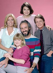 Family Ties...If you know who these people are...then you could help but love nerdy ALEX!