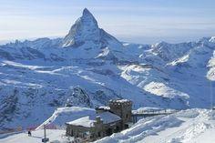 One of these days, Zermatt will look this again...#Zermatt #Switzerland #Alps # ski #now