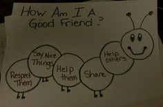 Guidance Lesson: Friendship and Charlie the Caterpillar