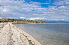 Αμβρακικός - Ο Παλαιόμυλος, παραλία ανάμεσα στην Αμφιλοχία και τη Βόνιτσα