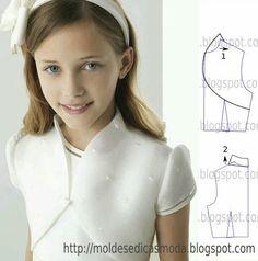 Moldes de moda para Medida: MODELADO-34 DETALLES                              …